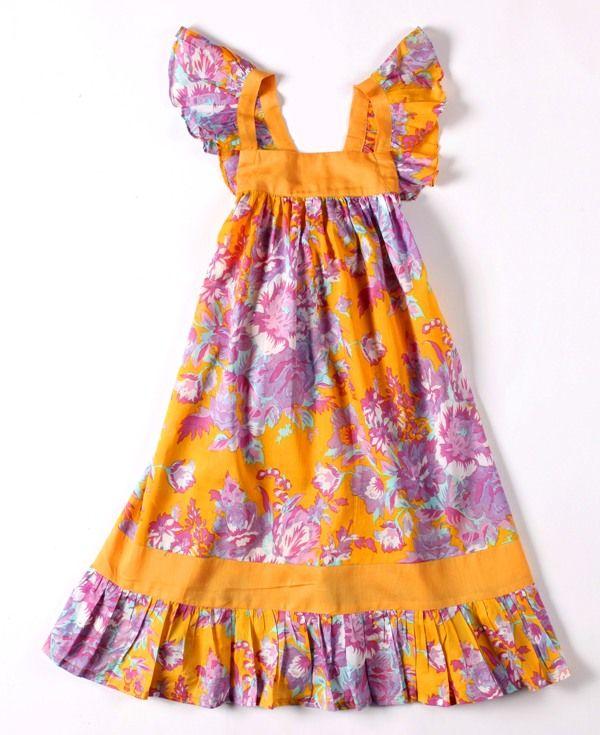 Coco & Ginger Sugar Dress  Mango Tahitian Size 4 - 8