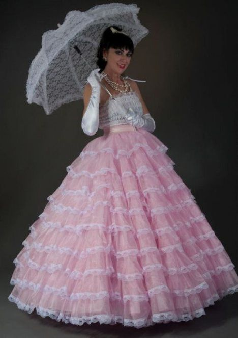 Petticoat Fashion Dresses Ball Dresses
