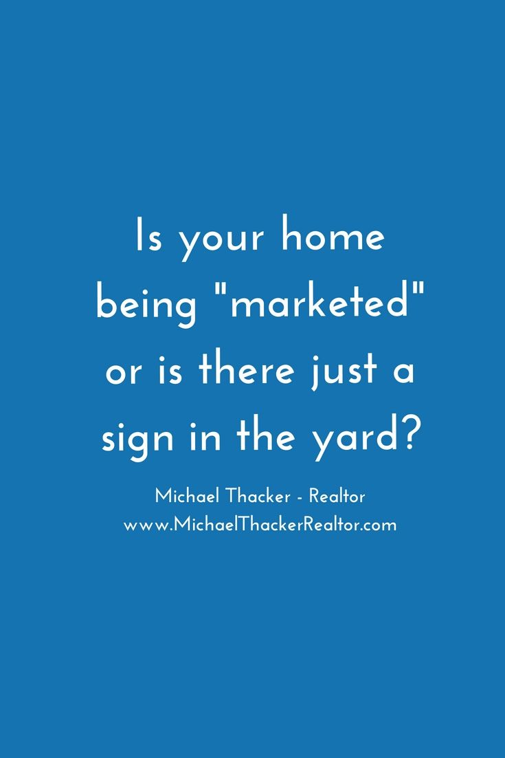 In Today S Real Estate Market You Can T Just Put A Sign In The Yard And Hope It Sells Myself I Show My Lis Real Estate Marketing Real Estate Articles Remax