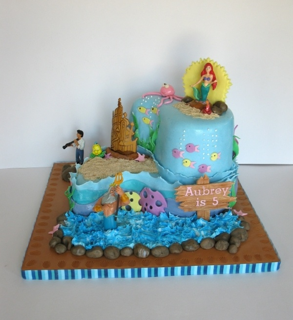 Cake Decorating Store In Mesa Az : 93 best images about Cakes - Little Mermaid on Pinterest ...