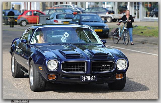 1973 Pontiac Firebird Formula 400 by Ruud Onos, via Flickr