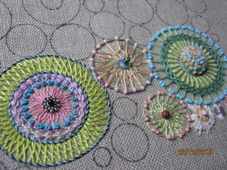 WIP..........Annette's Circles !