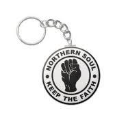 Northern Soul keyring