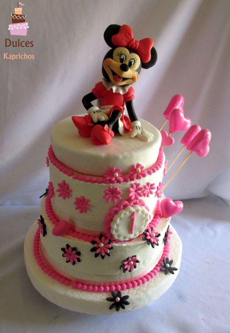 Torta de Cumpleaños #TortaMinnie #TortasDecoradas