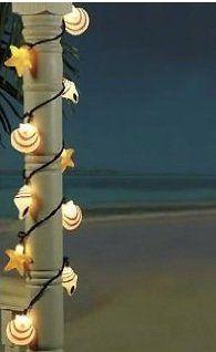 Seashell Beach Patio Light String