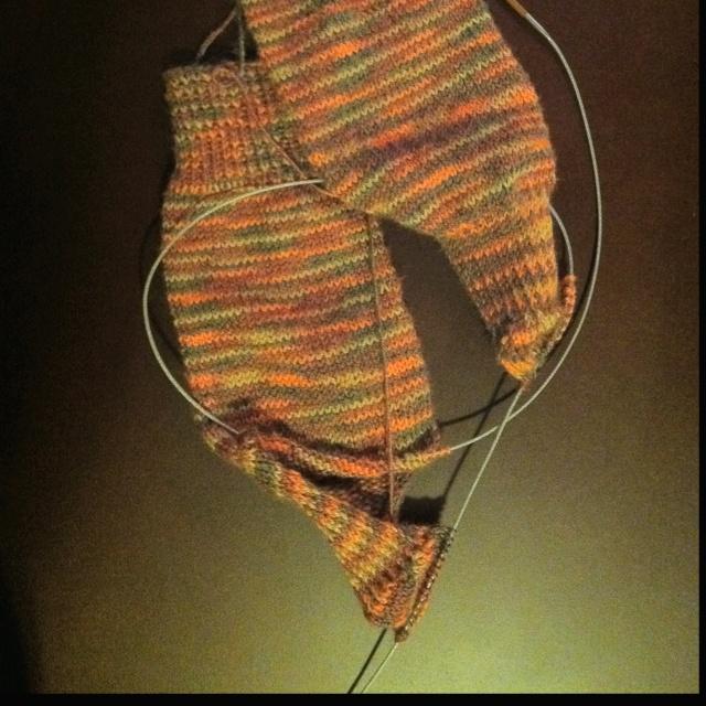 Pattern For Knitting Socks On 9 Inch Circular Needles : Two socks on one circular needle. My Projects Pinterest
