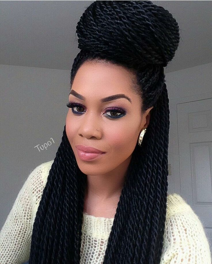 435 best images about Natural Hair: Braids Protective - Big Box Braids Hairstyles