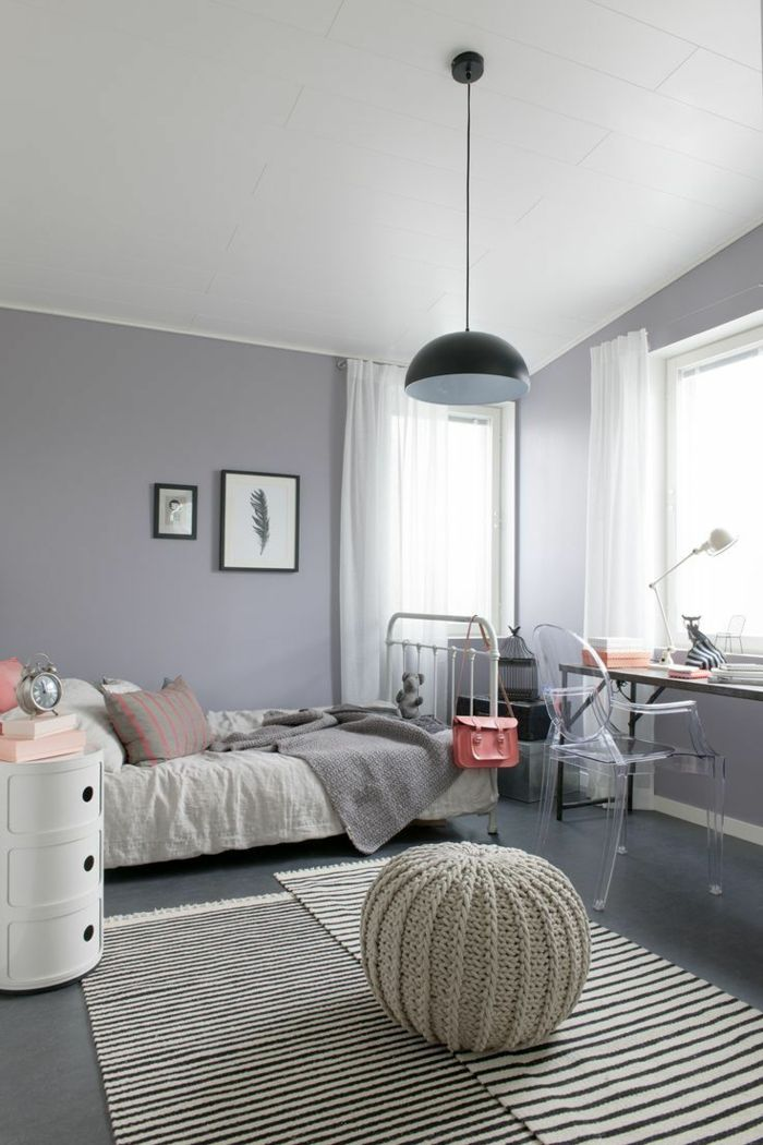 Idee Chambre Ado Fille #13: La Chambre Ado Fille - 75 Idées De Décoration - Archzine.fr