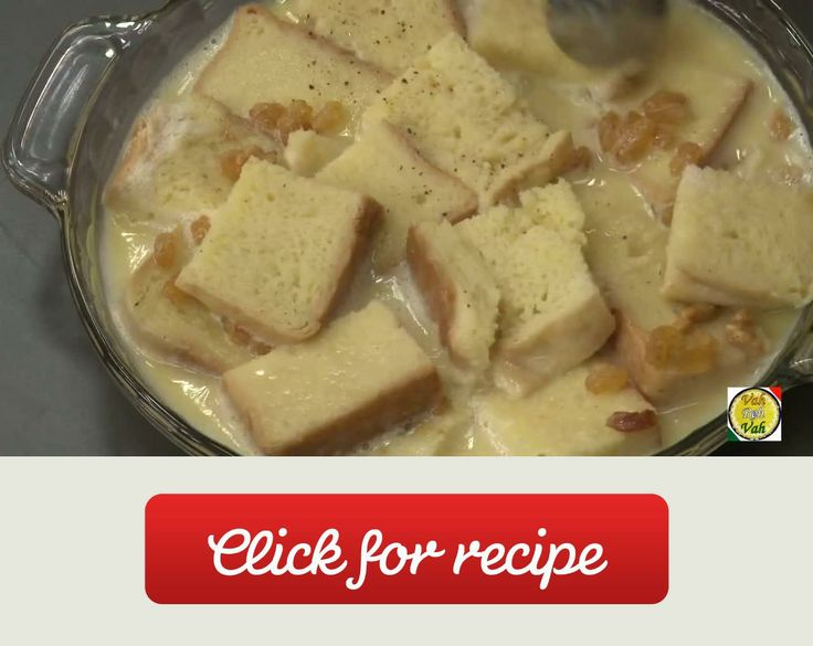 Bread Pudding - By Vahchef @ Vahrehvah.Com A recipe by VahChef (YouTube Channel)