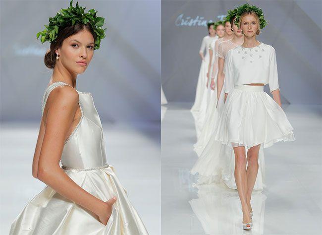 Wedding look 2017 Cristina Tamborero: Abiti da sposa moderni e femminili