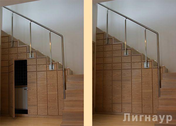 Лестница в интерьере кабинета. - деревянные лестницы, интерьеры из дерева, отделка деревом | дизайн проекты, дизайны интерьера | столярные изделия | мебель из натурального дерева