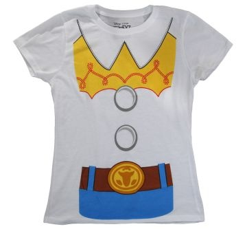 Great Costume Tee of Toy Story Jessie for the ladies!  #toystory #fashion #costumes #tshirts #shirts #Halloween #Holidays