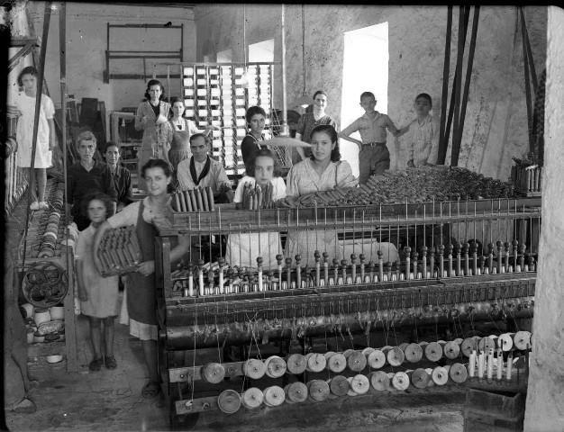 Industria textil malagueña ANCIENT MALAGA-SPAIN