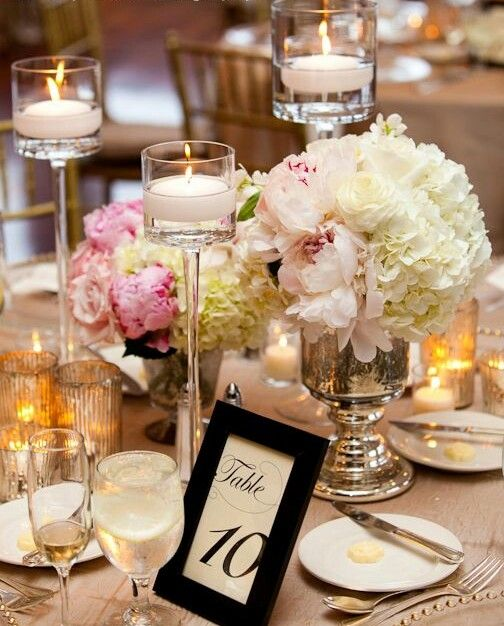 Wedding Reception Centerpieces Candles: 25+ Best Ideas About Mercury Glass Centerpiece On