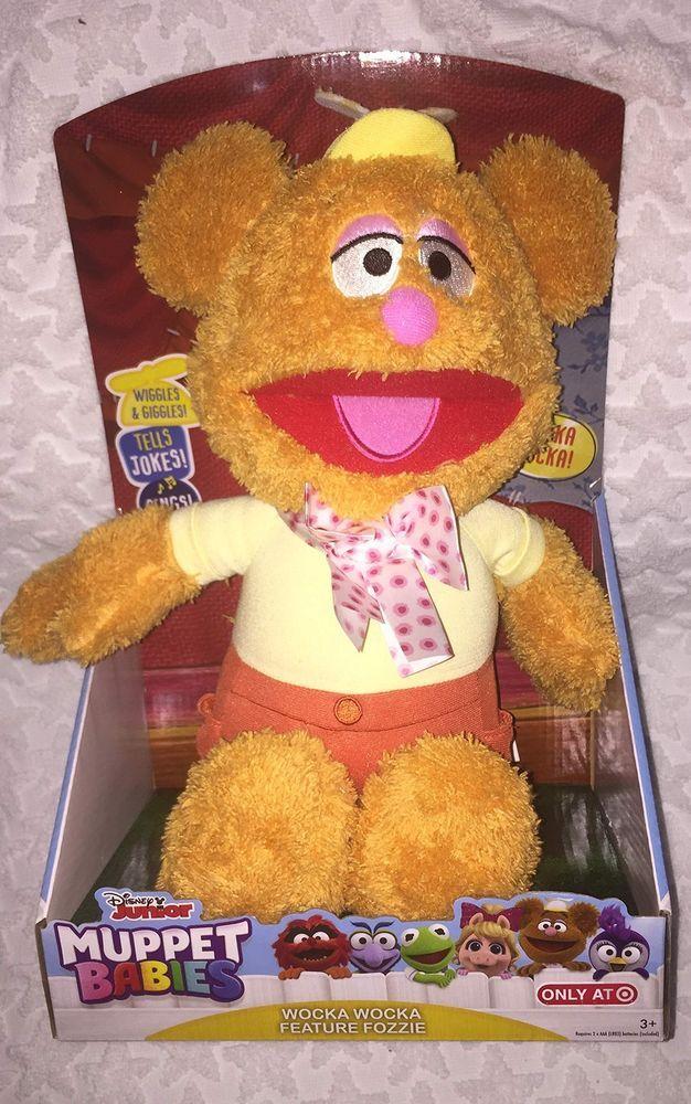 Muppets 14451 Babies Feature 12 Plush Talking Fozzie Bear Wocka Wocka Wocka Ebay Muppets Fozzie Bear Fozzie