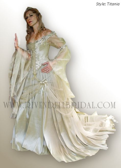 Perfect Medieval Wedding Dresses Fairy U Celtic By Rivendell Bridal I Can Certainly See