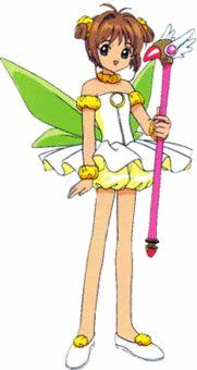 The Fairy costume - Cardcaptor Sakura Wiki