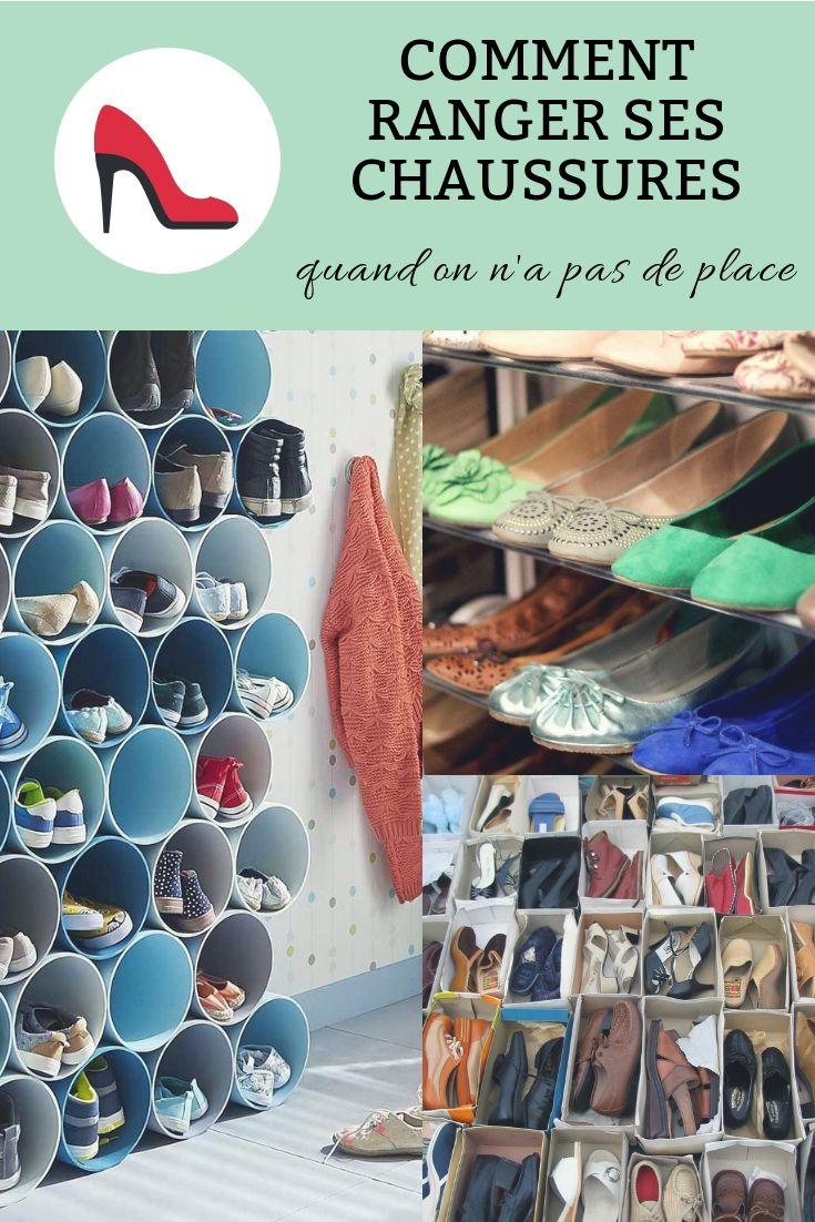 Porte Chaussure Derriere Porte comment ranger ses chaussures quand on n'a pas de place