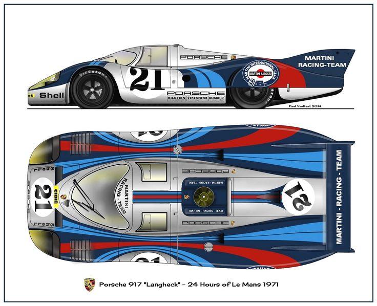 Porsche 917 LH - 1971