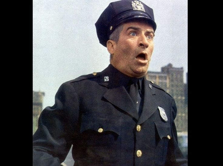 "Diapo Louis de Funès ""Le Gendarme à New York"" (1965)."
