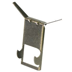 The Hillman Group 2-Count Brick Clip Hangers...Found at Lowes for $2.48....bought these for hanging outdoor metal art on the brick instead of mounting a screw in the brick...spring loaded so they will stay in place. Love these!