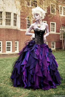 Ursula Designer Doll Cosplay. I saw the doll just last week and fell in love, and now i am in love with this Cosplay! Well done!