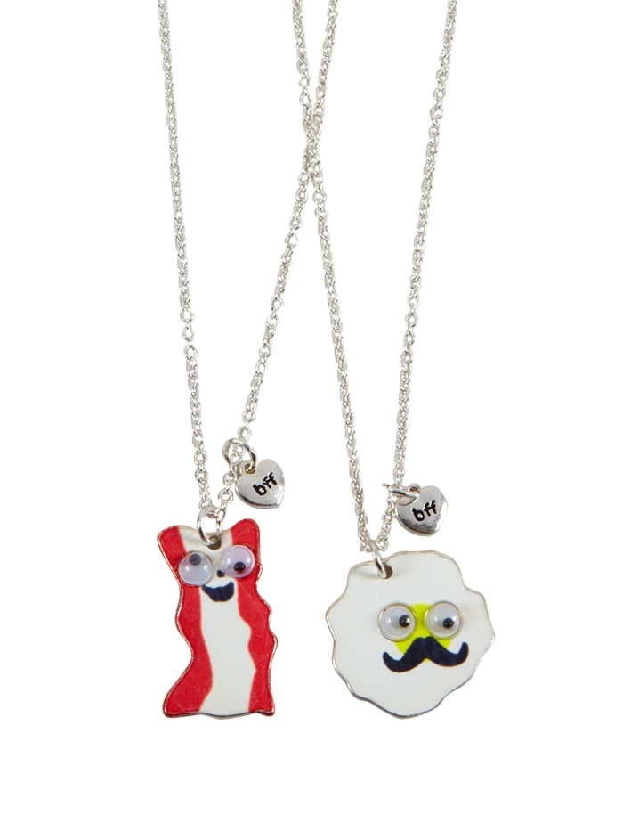 BFF BACON AND EGGS NECK   Necklaces   Jewelry   Shop Justice