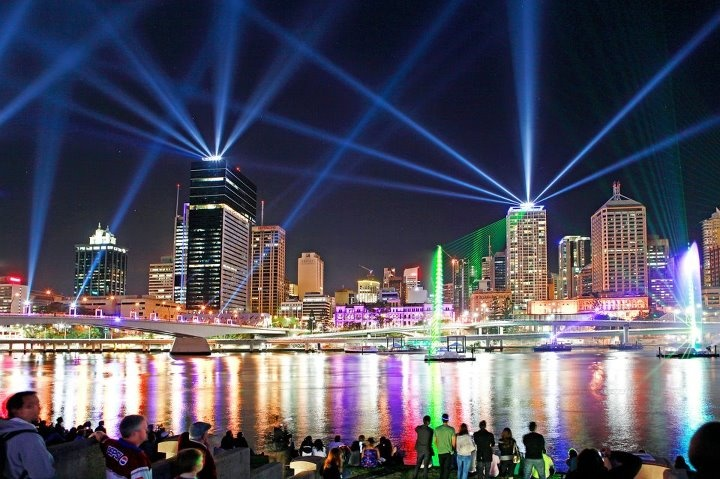 Brisbane - 'Riverfire' festival held every September