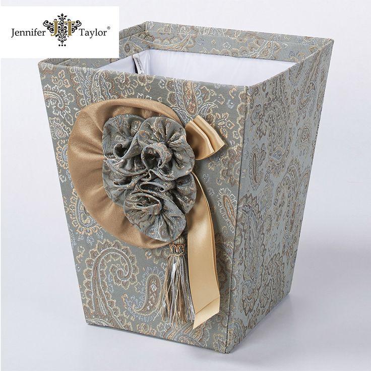 Украшения дома ткани корзина для бумаг может