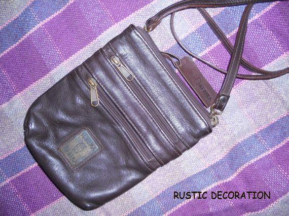 Leather Vintage Purse Sukuma Afrika