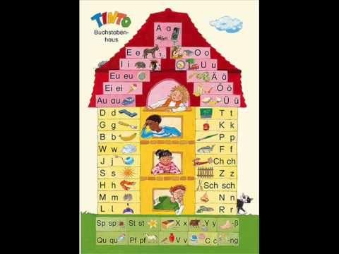 Tinto Buchstabenhaus Ausdrucken