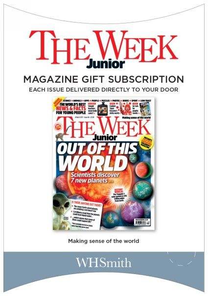 The Week Junior Magazine Subscription Gift Pack