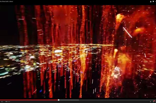 Amazing Inside View Of Fireworks Taken By A Drone | IFLScience