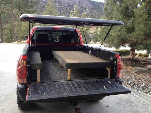 Undercover tonneau pop up tent build