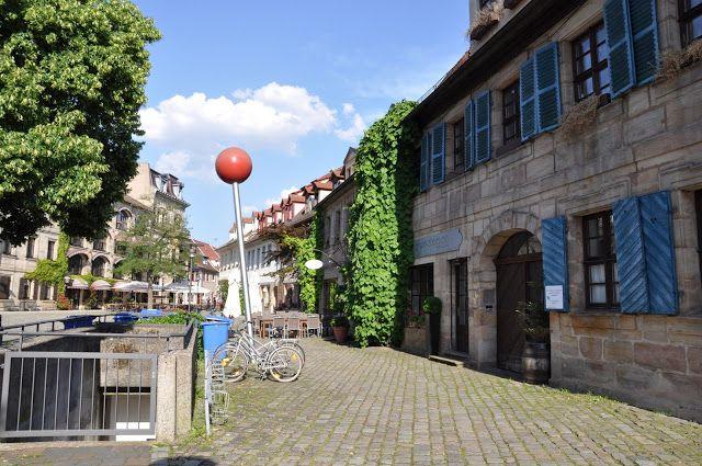 A Quiet Square in Erlangen, Germany