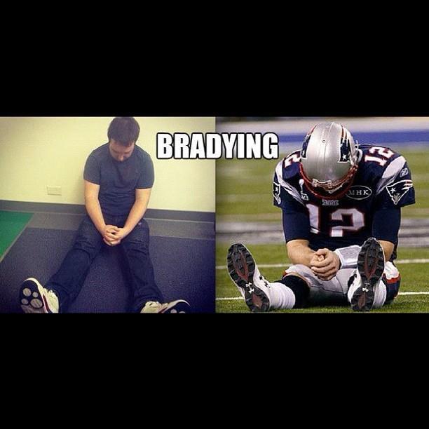 Bradying #tombrady