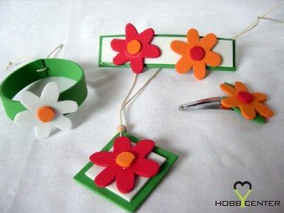 Kreatív nyár: Virágos szett    http://www.hobbycenter.hu/Evszakok/nyari-viragos-szett.html