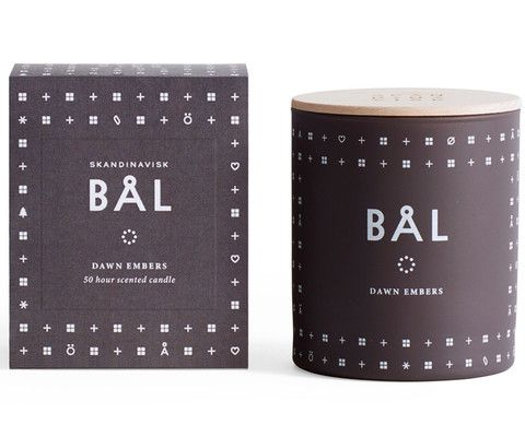 BÅL Scented Candle (campfire)