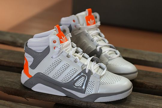 #adidas Originals LQC 'White/Grey/Neon Orange' #shoes