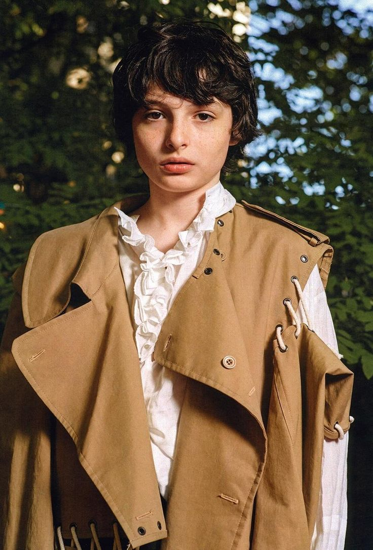 """""""I got out of the car and I just heard men – like, full-grown men – screaming, 'Finn, Finn, Finn!'""""  Finn Wolfhard eats french fries at a picnic table behind a ramshackle Brooklyn house rented for a photoshoot. It's early October, and we're enjoying the remnants of summer over lunch while chatting about his life – as of late, a surreal daydream. With occasional encounters of the bizarre kind.  """"I realised, it's cool if it's a 13-year-old."""" he says, mulling over the scene he's just described…"""