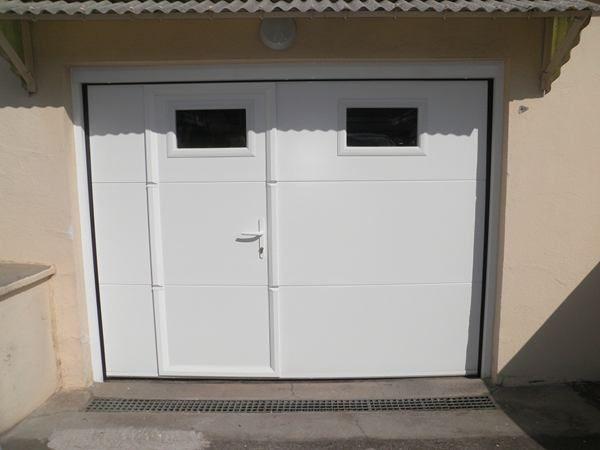 1000 ideas about porte de garage sectionnelle on. Black Bedroom Furniture Sets. Home Design Ideas