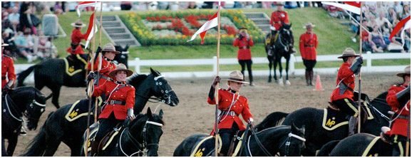 RCMP Musical Ride Centre, 1 Sandridge Rd, Ottawa, ON K1G 3J2.    See the Mounties and horses perform and take a tour of their stables. SO CANADIAN!