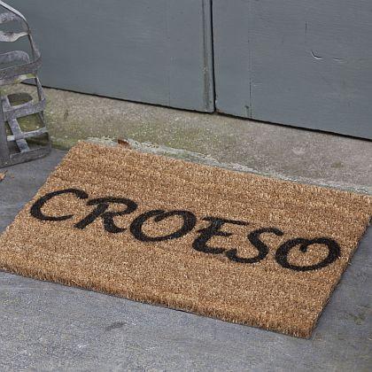 Croeso Door Mat