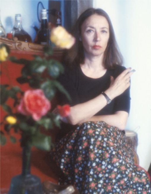 Oriana nella casa di Greve in Chianti (4) - Foto - Oriana Fallaci