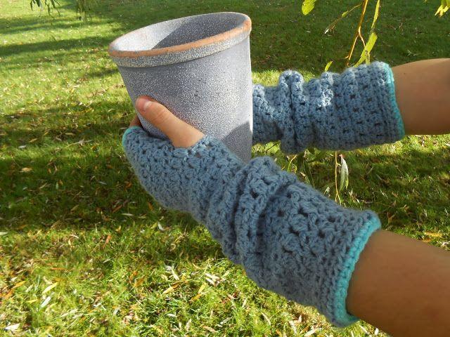 Gehaakte handschoenen festijn