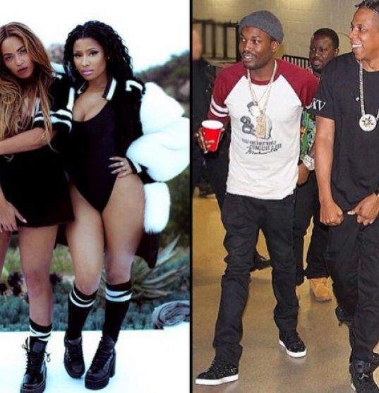 Couple Cam:Meek Mill and Nicki Minaj flirt on instagram - https://www.nollywoodfreaks.com/couple-cam-meek-mill-and-nicki-minaj-flirt-on-instagram/