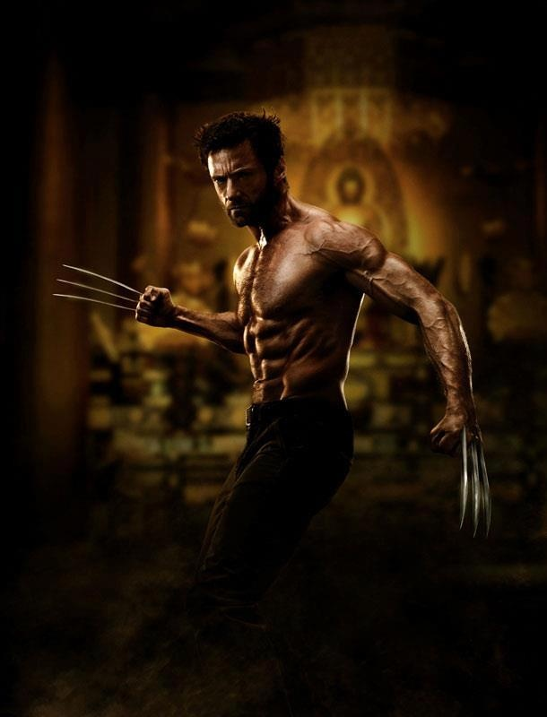 """first image of Hugh Jackman as """"The Wolverine"""" by James Mangold"""