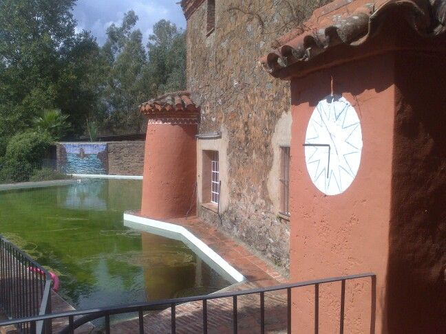 Fresh spring water pond at lacartujadecazalla.com