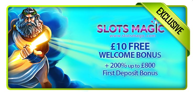 Claim your 200% Match Bonus at Slots Magic today! http://bit.ly/1rc7hc9