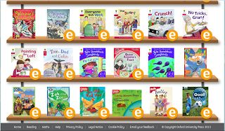 Oxford Reading Tree - over 250 free e-books...I signed up for this and have access to these and am starting master jack on them now hes 4 he can do it